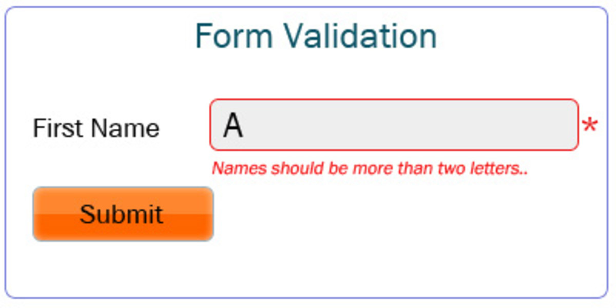 Validation for Length