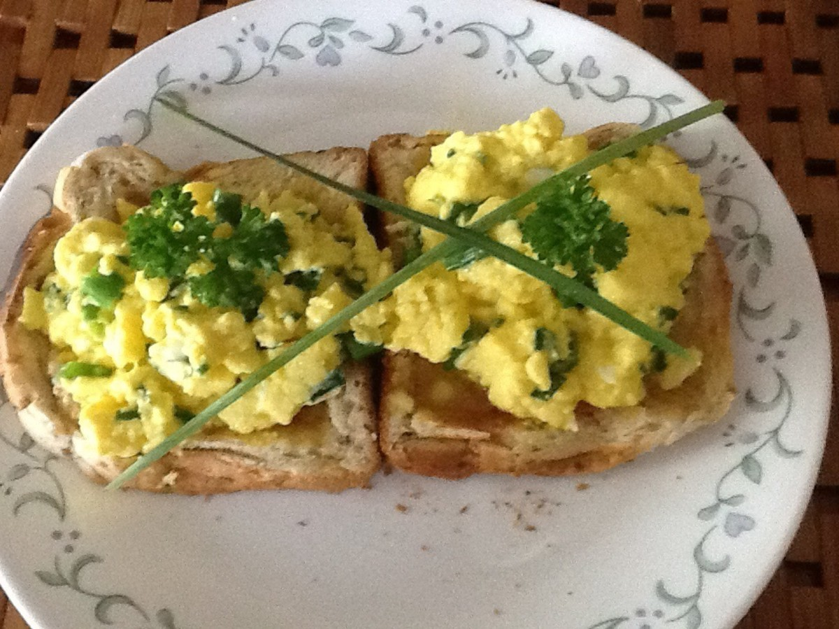 The World's Best Scrambled Eggs (my wife's opinion anyway)