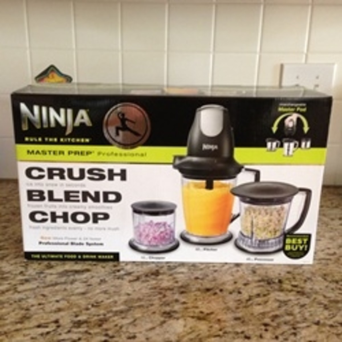 Ninja Master Prep Professional Blender & Food Processor