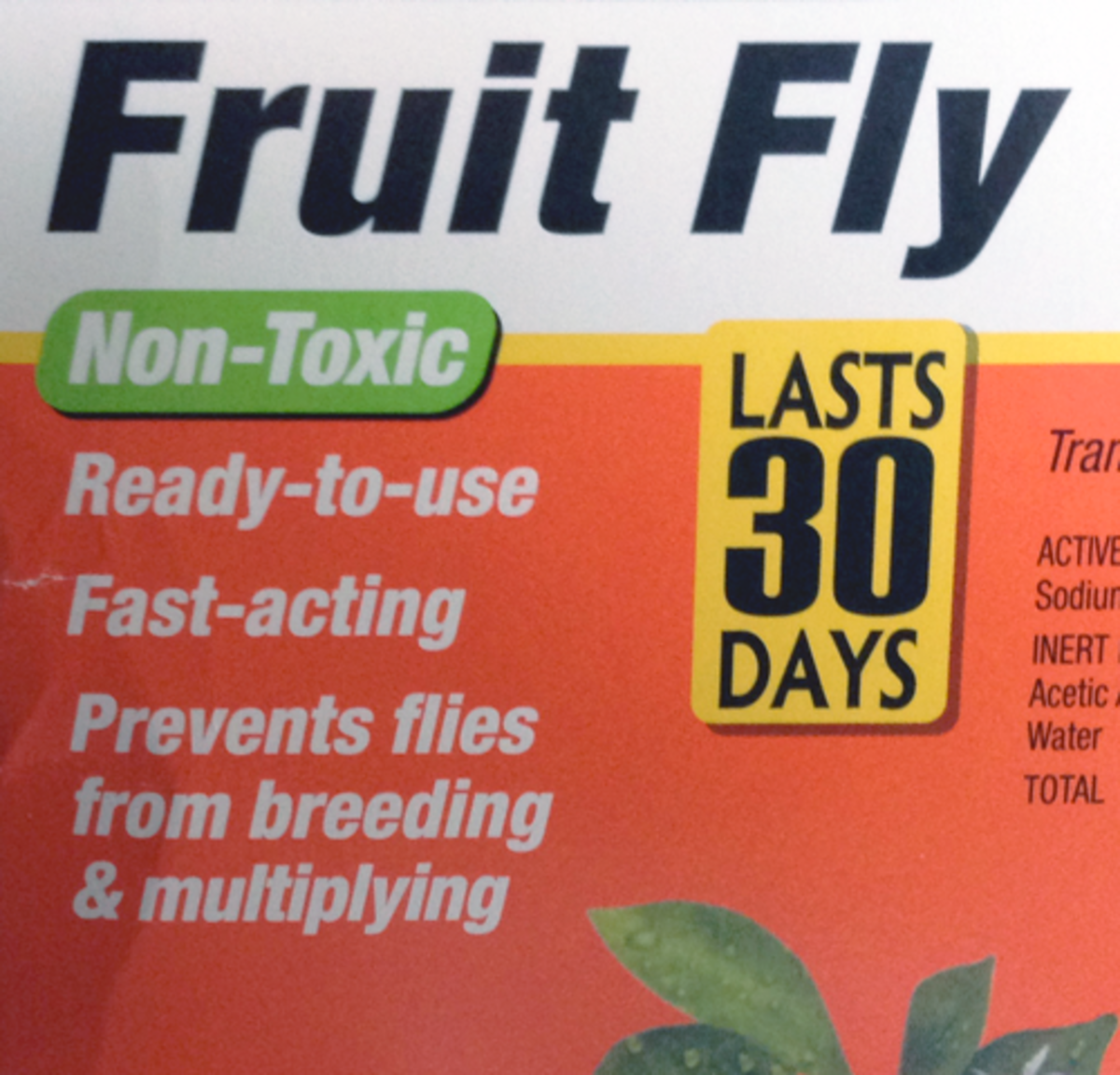 The labeling indicates that Fruit Fly reproduction will be controlled.