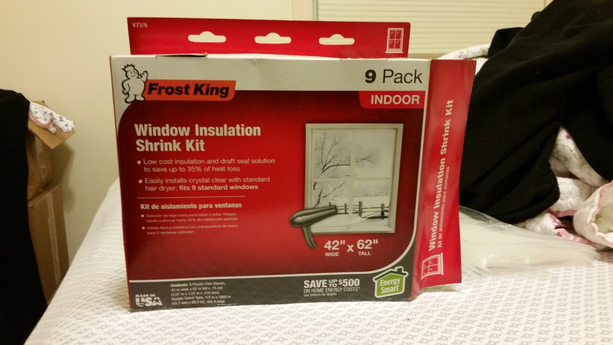 Frost King: Window Insulation Shrink Kit