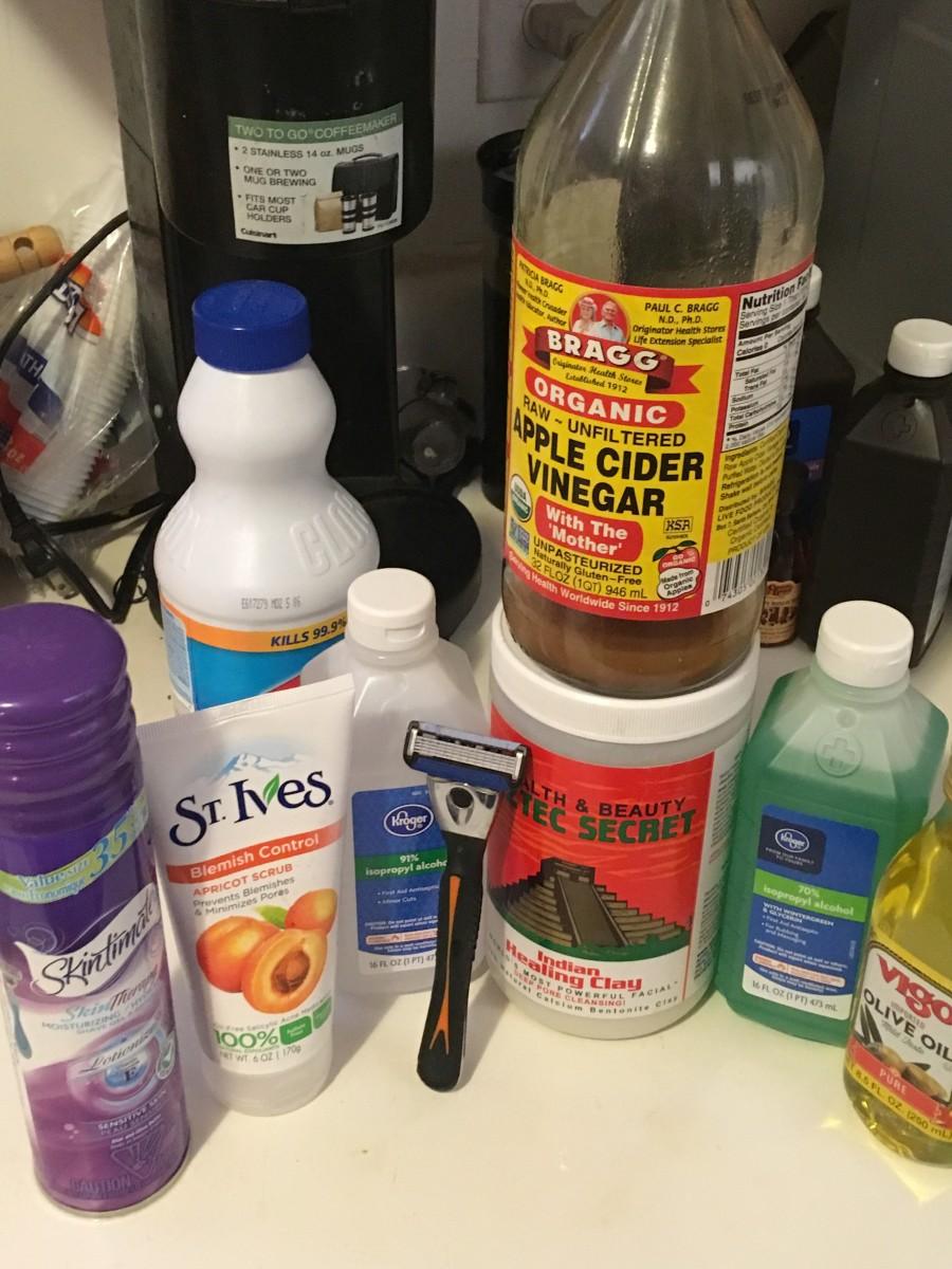 Treating razor bumps