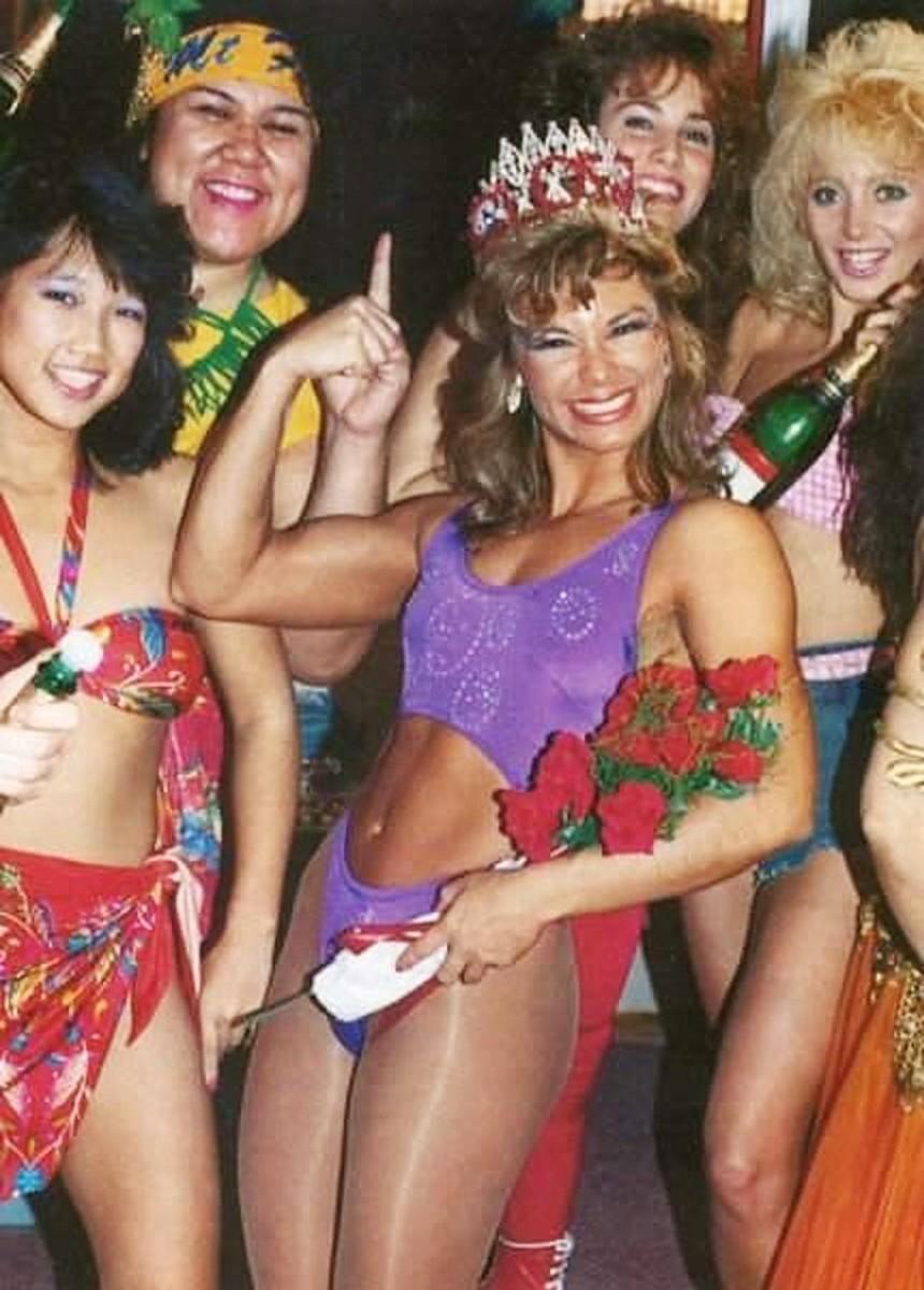 Lisa Moretti aka Tina Ferrari aka WWE Diva Ivory