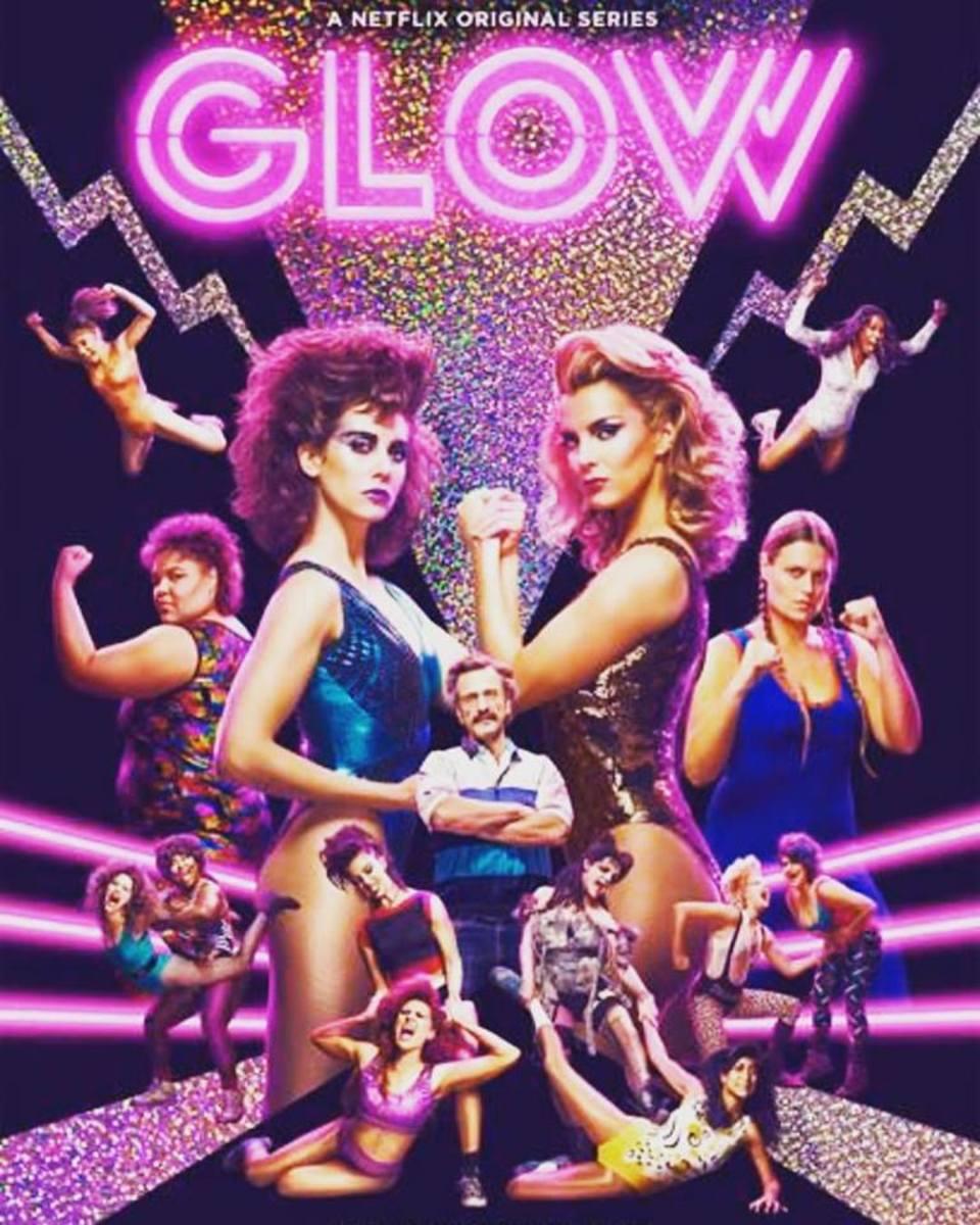 The Netflix GLOW series