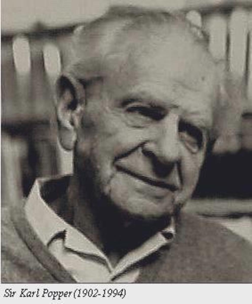 Sir Karl Popper (1902 - 1994)  The hypothetico-deductive method derives primarily from his work.