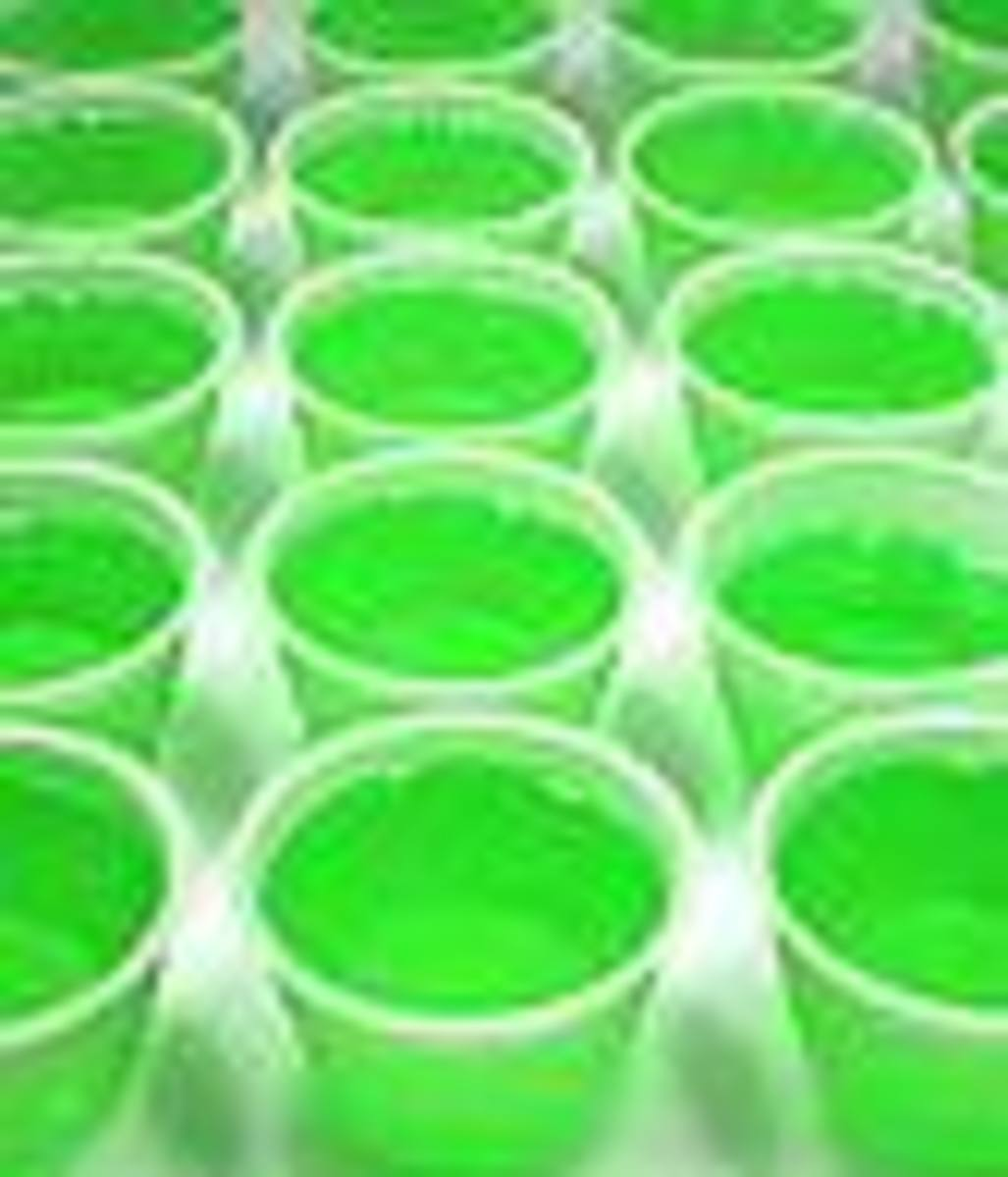 How To Make St. Patty's Day Jello Shots