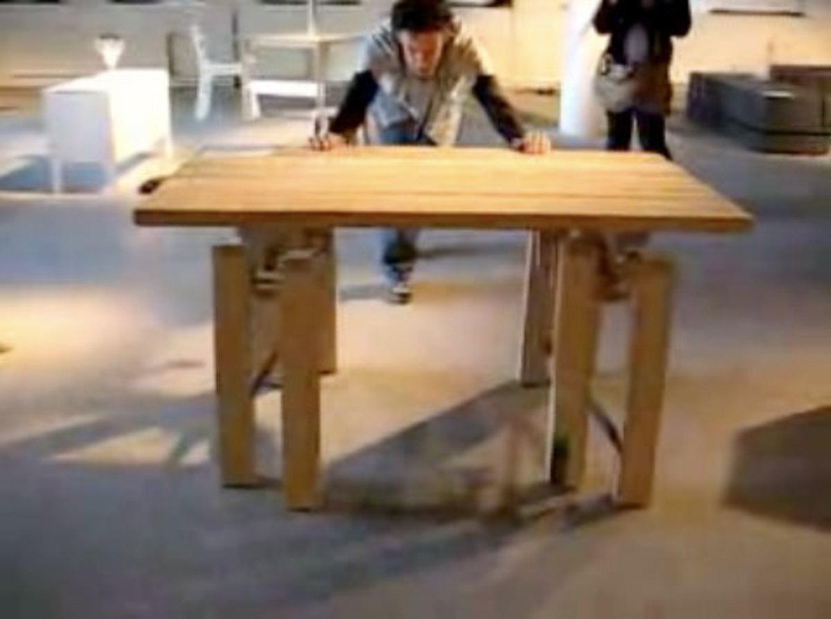 Walking table image
