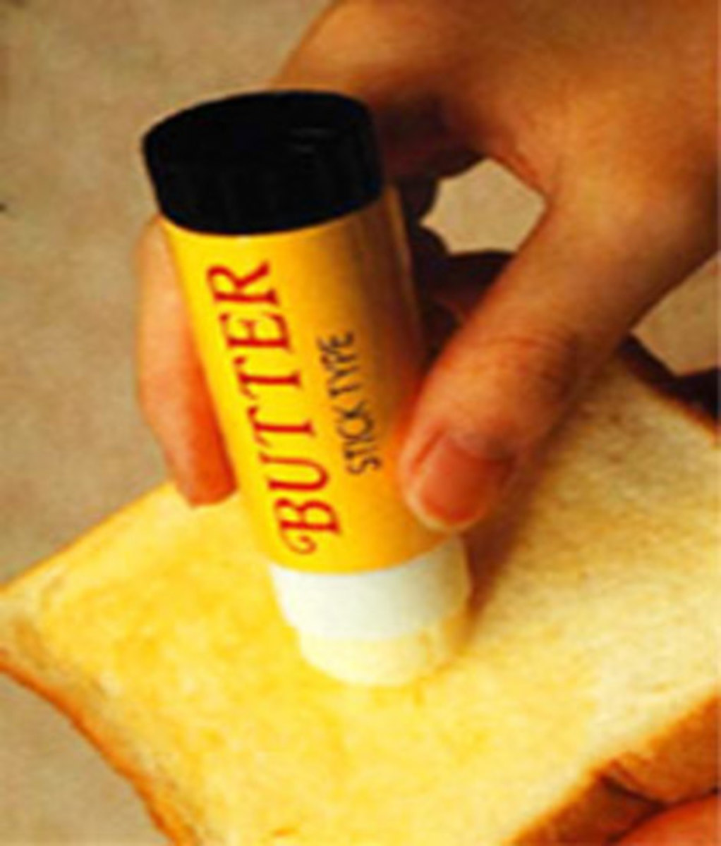 STICK hehe BUTTER for the LAZY