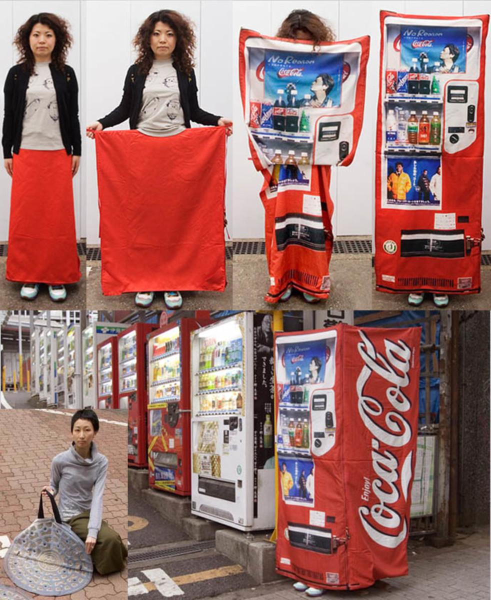 Vendo machine dresses