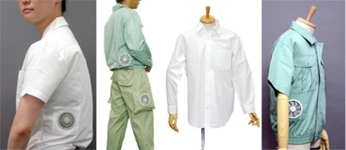 Air conditioned garments