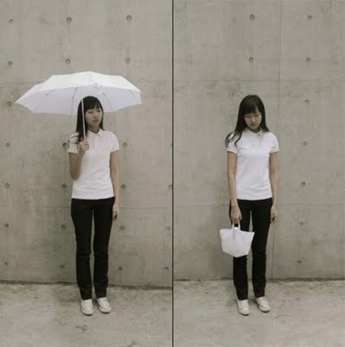 Bag and Umbrella in one