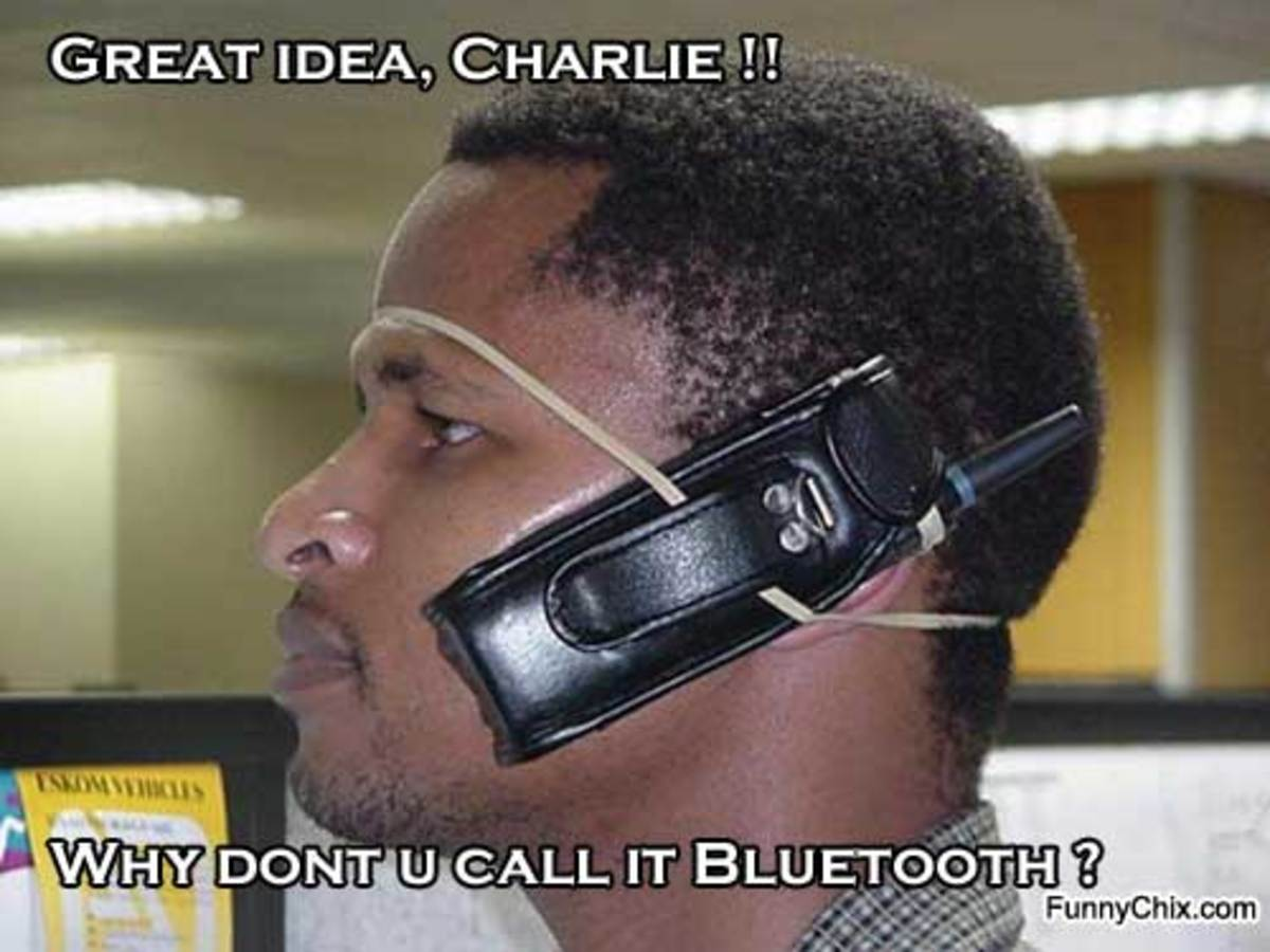 Who needs Bluetooth??