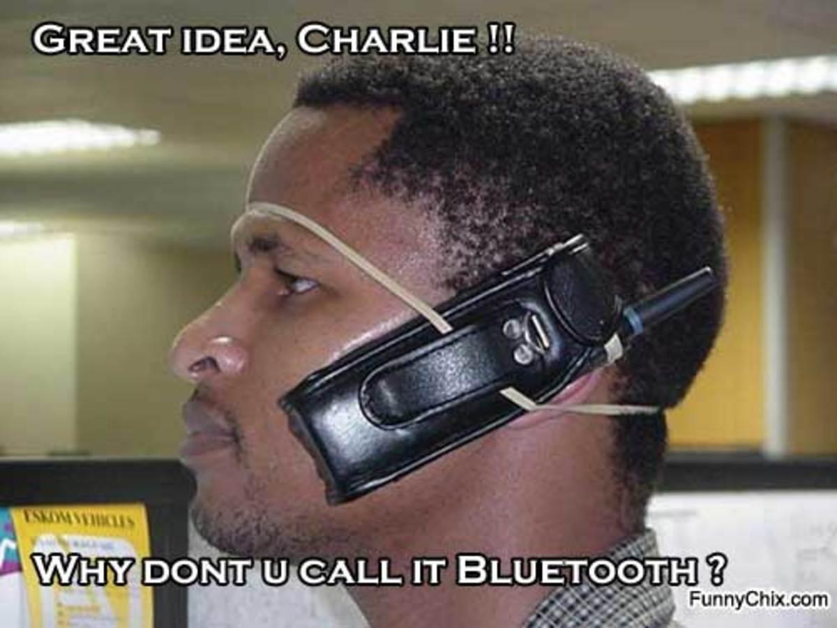 Who needs Bluetooth??