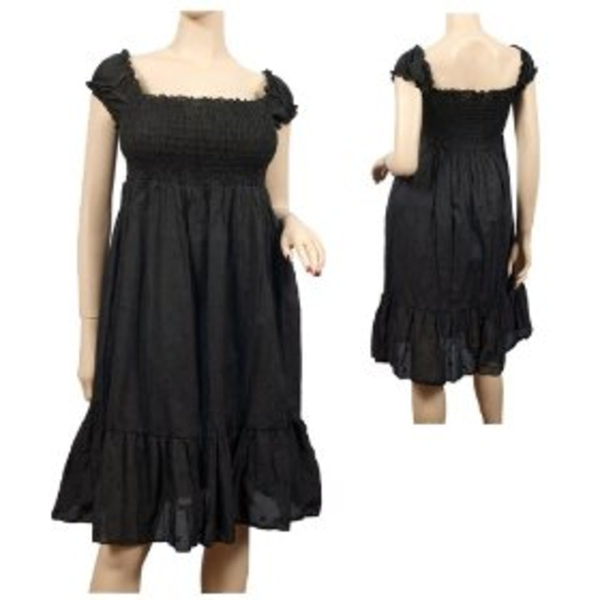 This a a nice dress for apple figures!