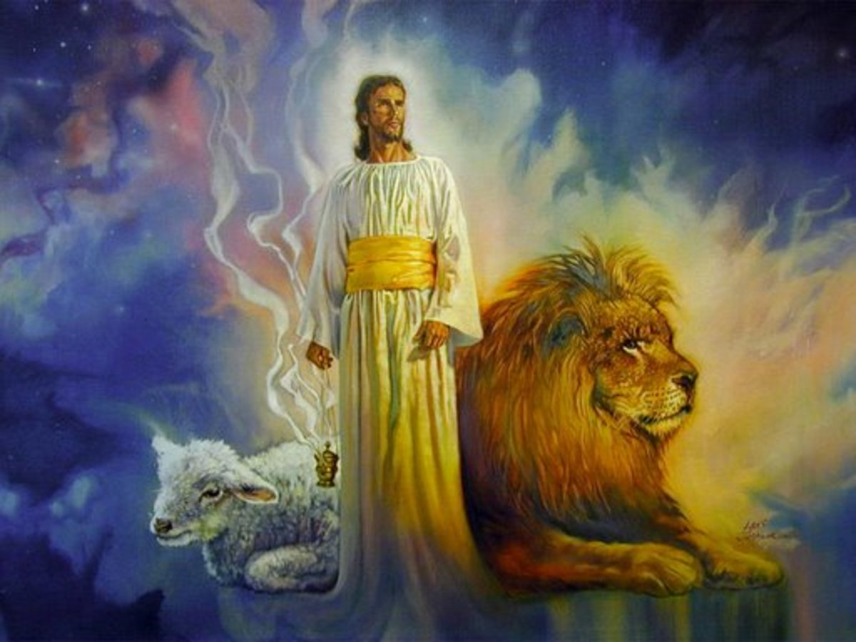 Jesus-the Lion, the Lamb     Picture from      http://possessthevision.files.wordpress.com
