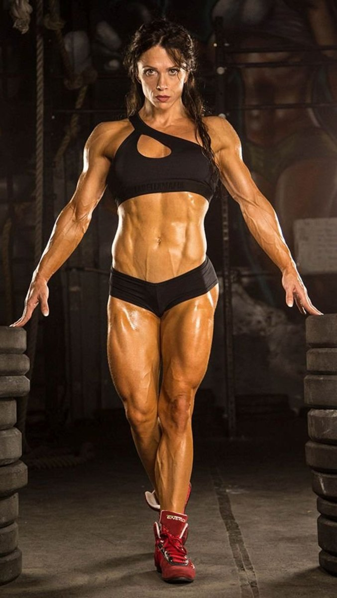Oksana Grishina - Female Fitness Competitor
