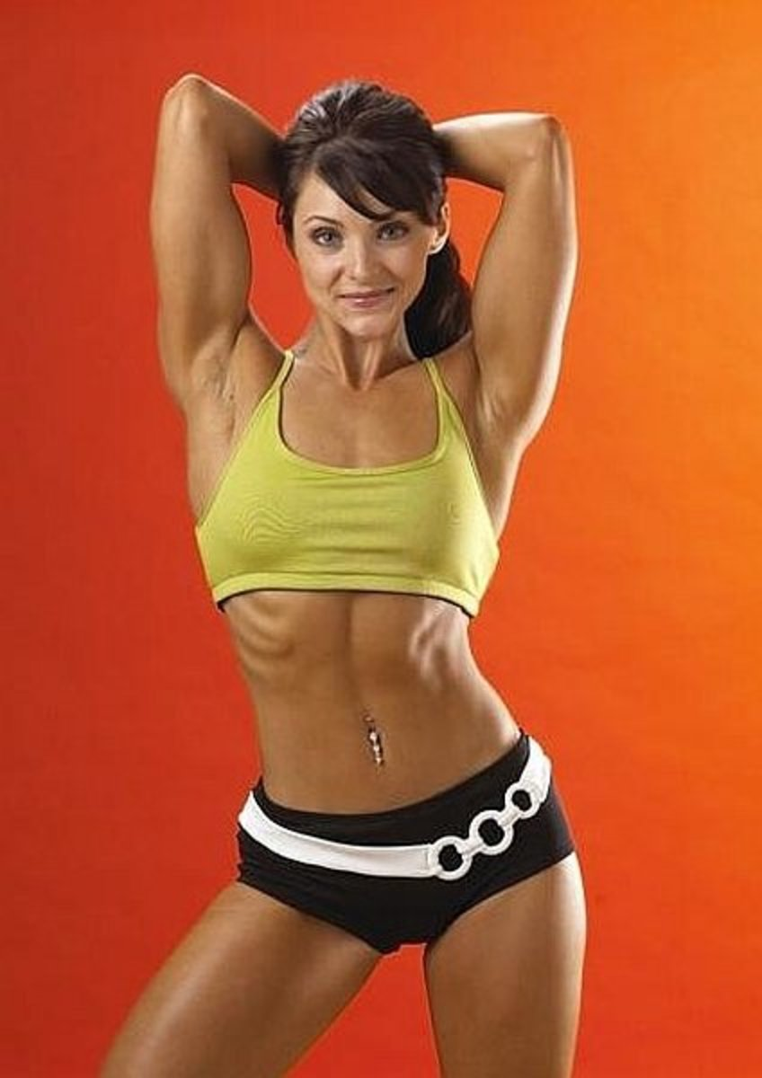 Julie Ann Kulla - IFBB Figure Competitor