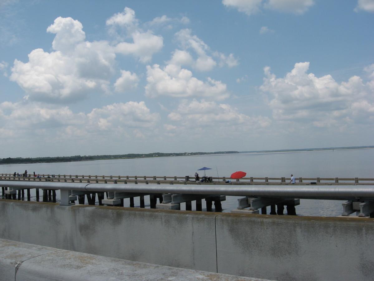 George Crady fishing pier
