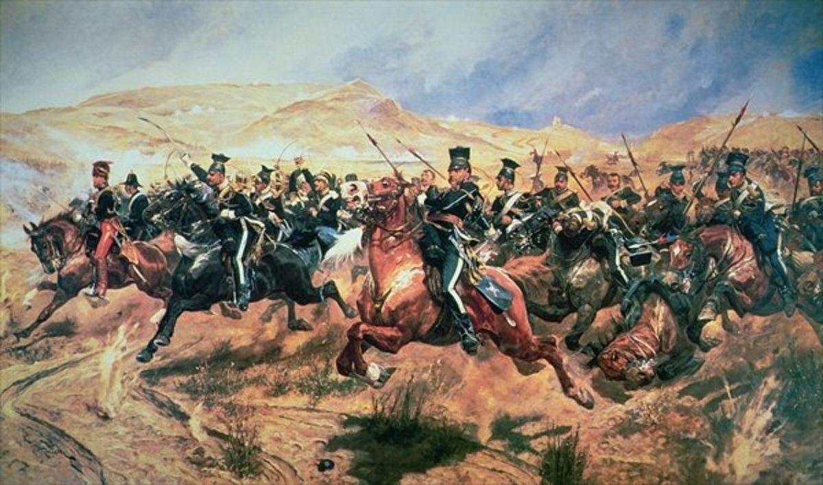 'The Charge of the Light Brigade' by Caton Woodville - copyright expired. Accessed: http://en.wikipedia.org/wiki/File:Charge_of_the_Light_Brigade.jpg