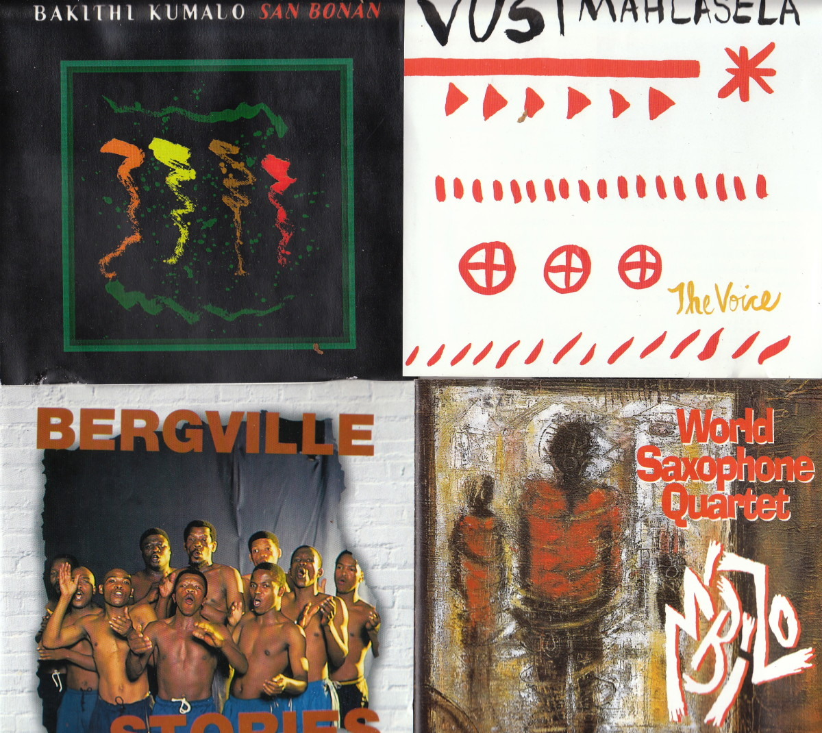 Bakithi Kjumalo; Vusi Mahlasela; Bergville Stories; Imbizo