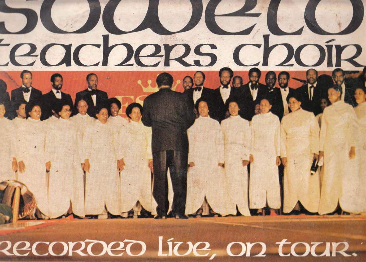 The original Soweto's Teacers Choir recorded on Tour
