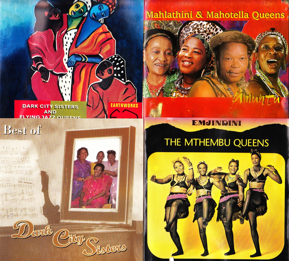 Dark City Sisters' Mahotella Queens; Dark City Sisters; Mthembu Queens