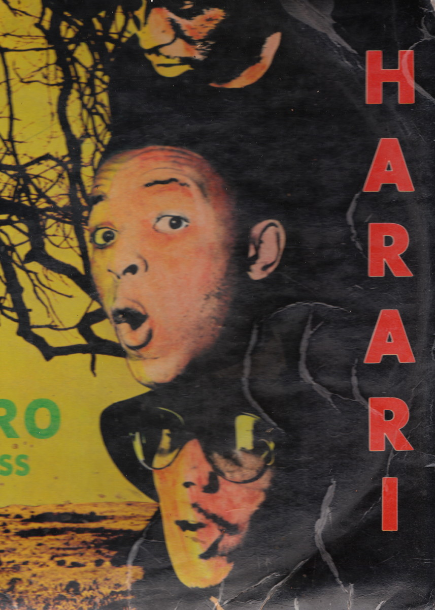 """The Original Harari Group after it changed its name from """"The Beaters"""" To """"Harari"""", after they returned from their Trip in Harari City, Zimbabwe"""