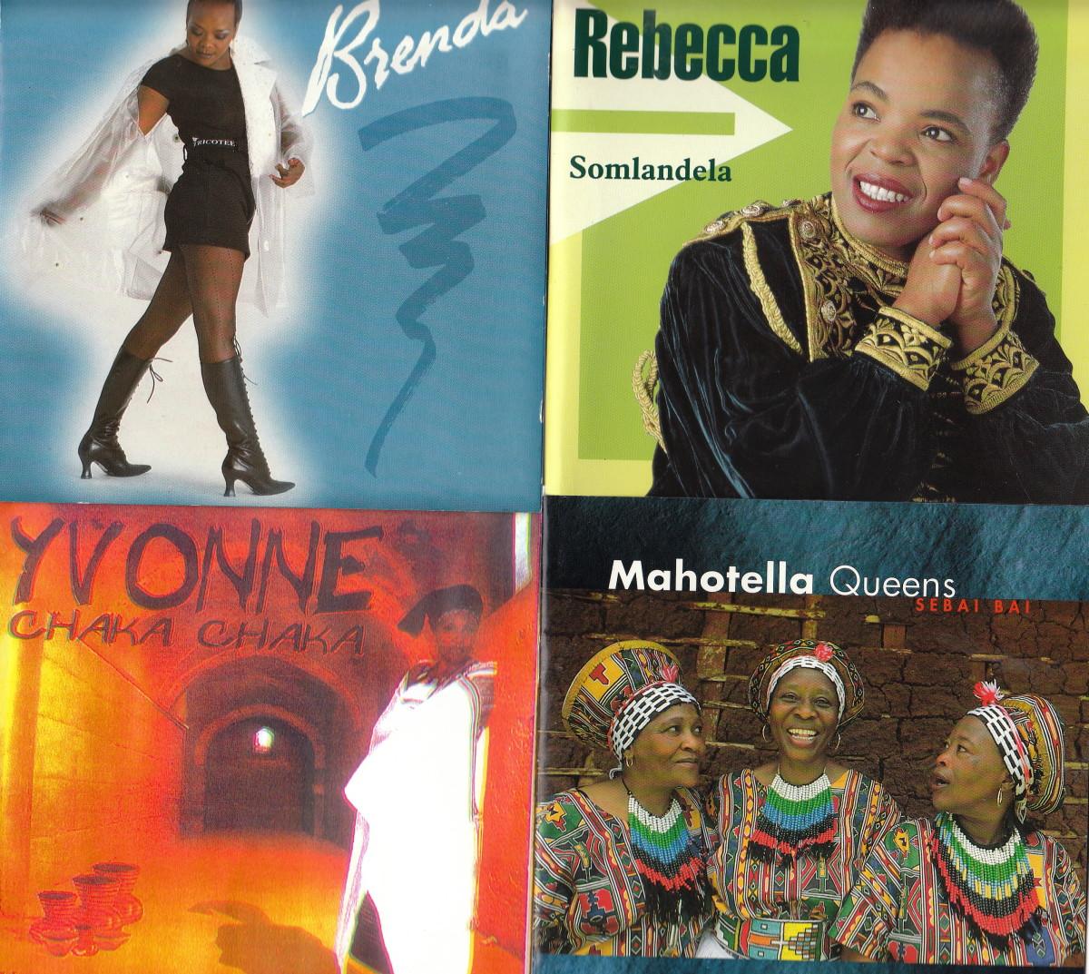 Brenda Fasie; Rebecca Malope; Yvonne Chaka Chaka; Mahotella Queens