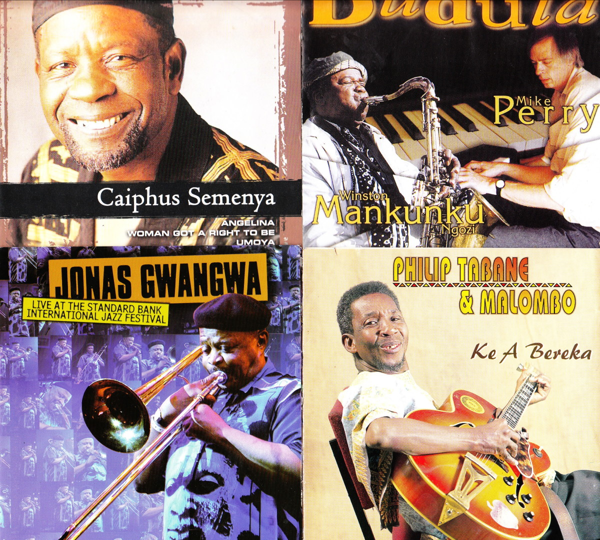 Caiphus Semenya; Winston Manunku Ngozi; Jonas Gwangwa; Phillip Tabane