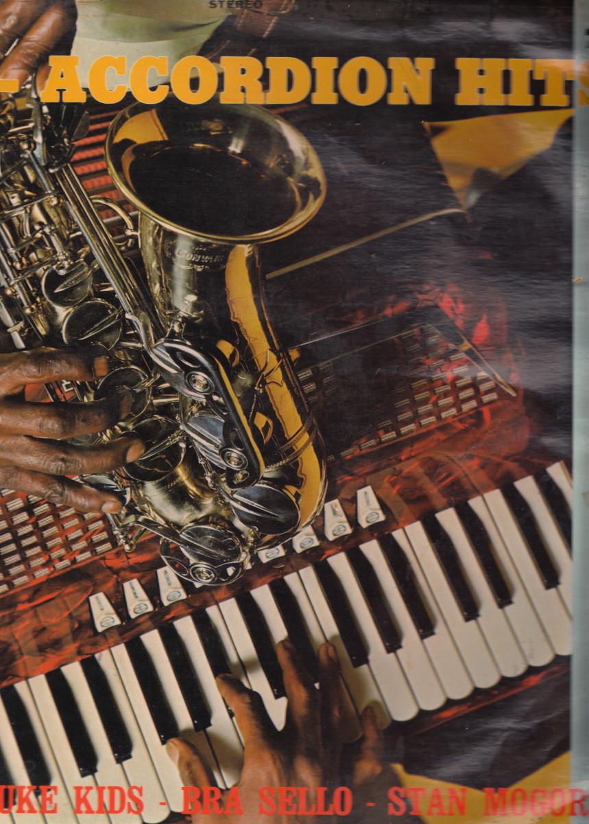"The Masuluke Kids, Bra Sello and stan Mogorosi in the album ""Sax-Accordion Hits"