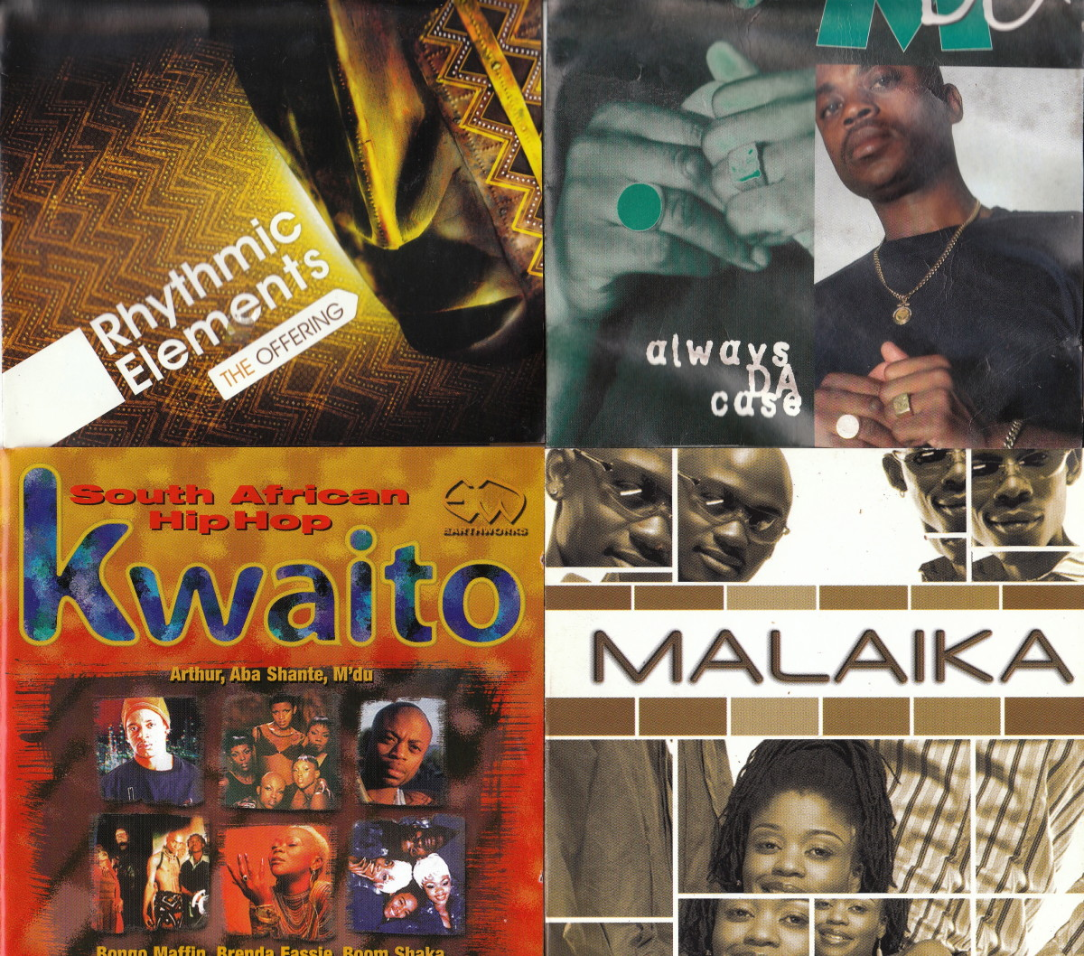 Rhytmic Elements; M'du Masilela; Kwaito Artists; Malaika