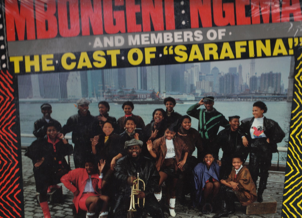 The Cast of Sarafina , by Mbongeni Ngema, in New York
