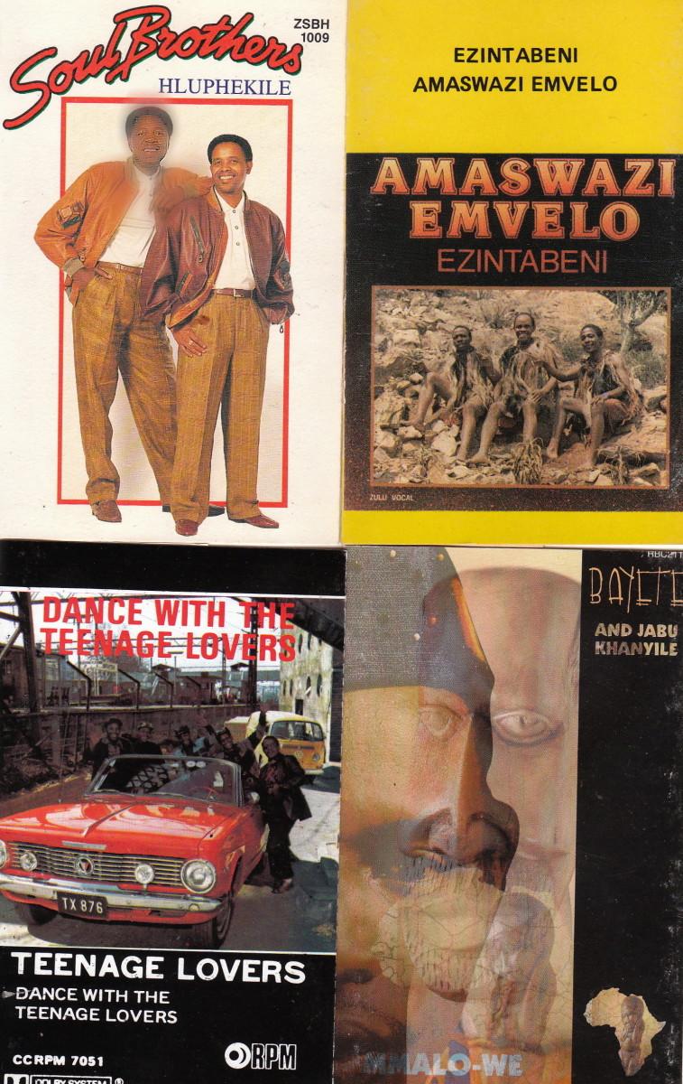 Sooul Bothers; Amaswazi Emvelo; The Teenage Lovers; Bayete