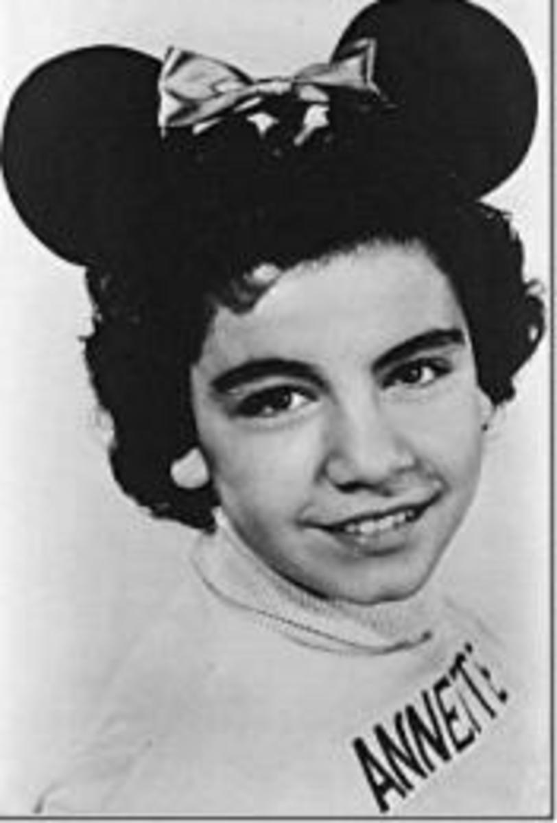 Annette Funicello At The Beginning