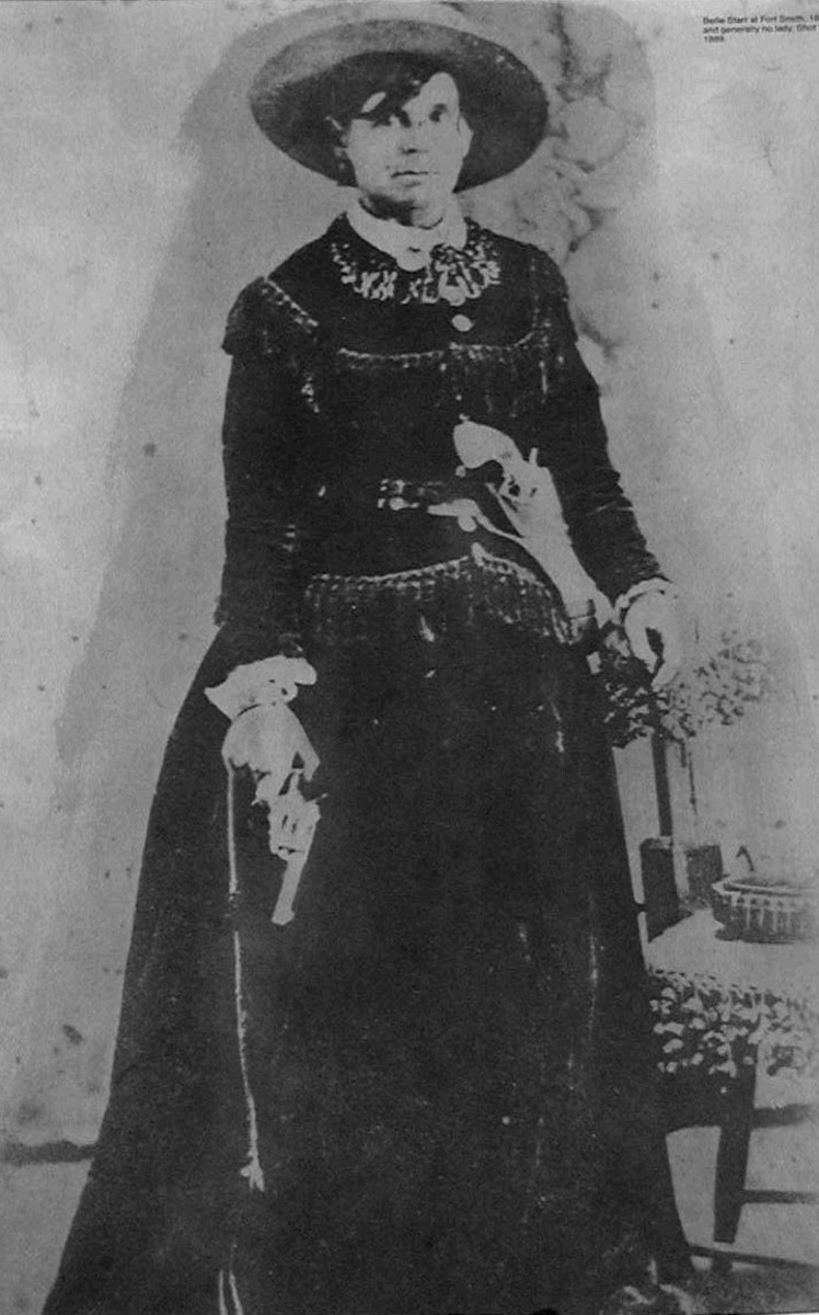 Belle Starr, Horse thief and Outlaw