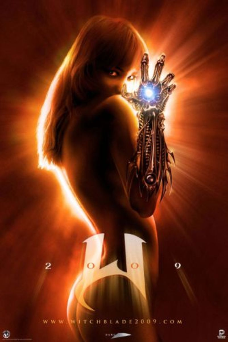 Poster from the rumored Witchblade movie