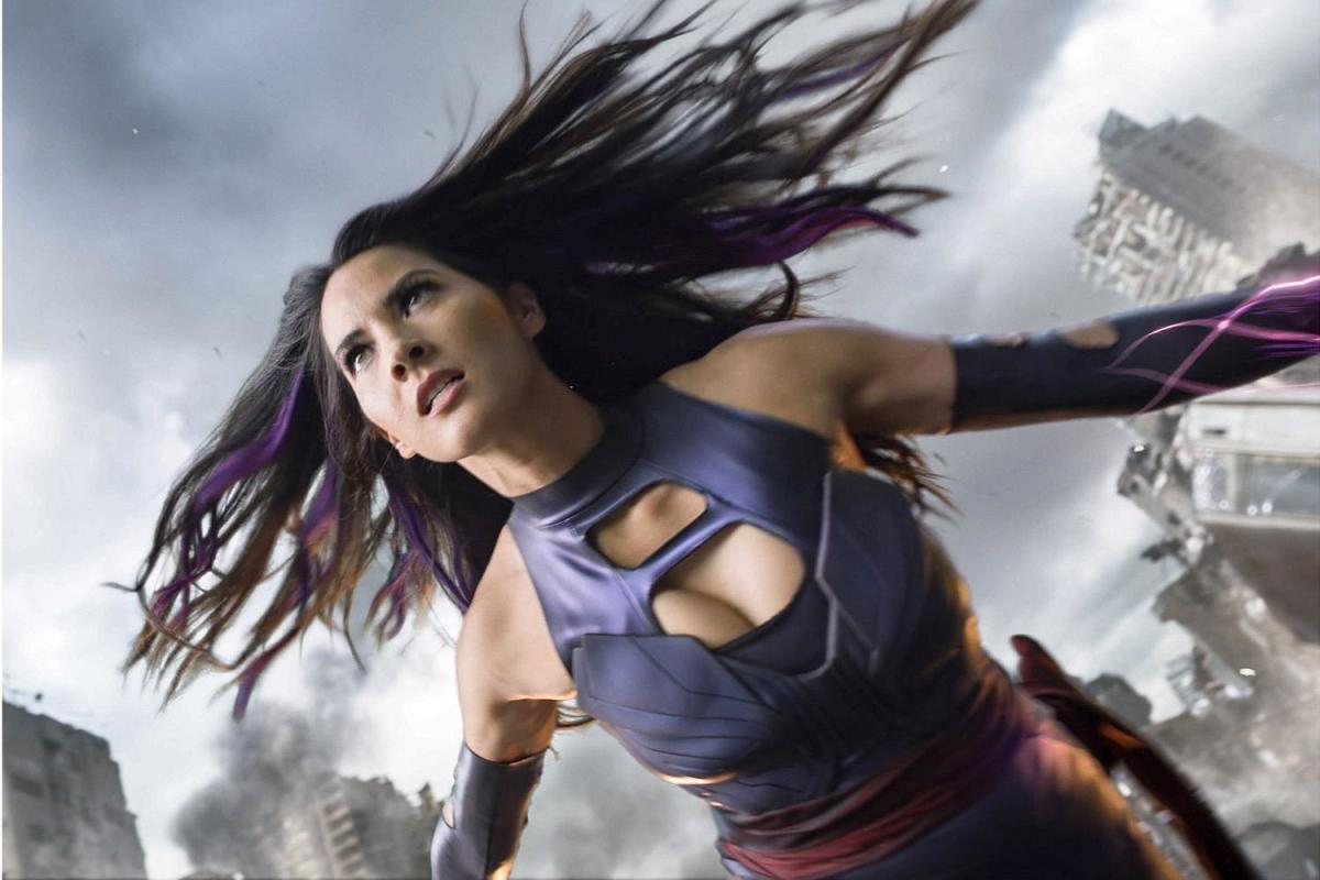 Olivia Munn as Psylocke in X-Men: Apocalypse,