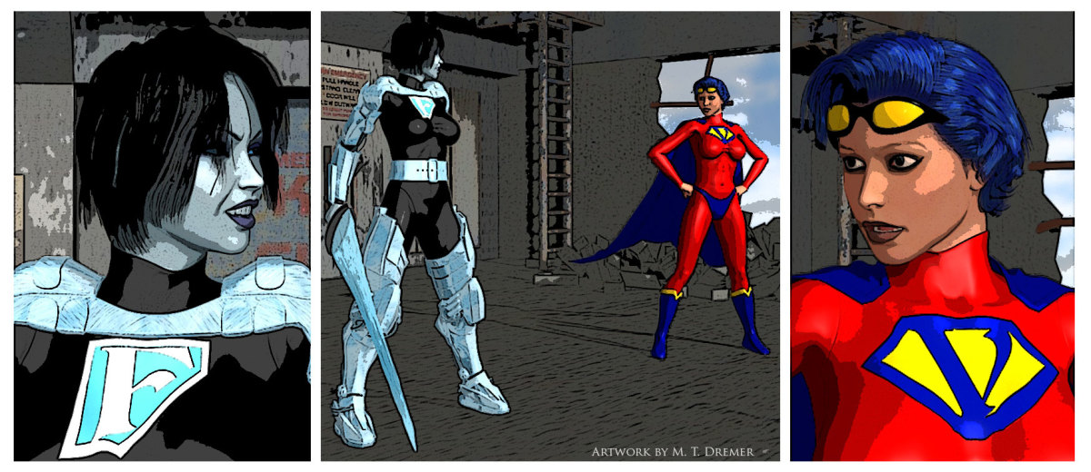 A sample digital comic.