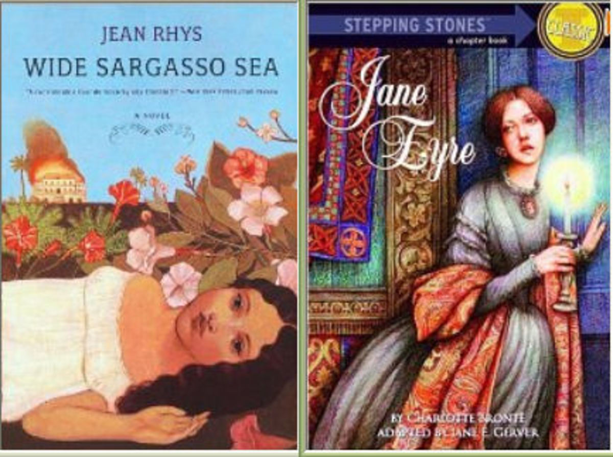 'Bertha' in Charlotte Bronte's 'Jane Eyre' and Jean Rhys's 'Wide Sargasso Sea' - Comparison and Analysis