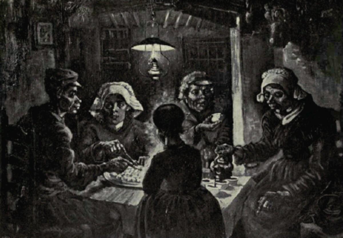 """Van Gogh's """"The Potato Eaters"""""""