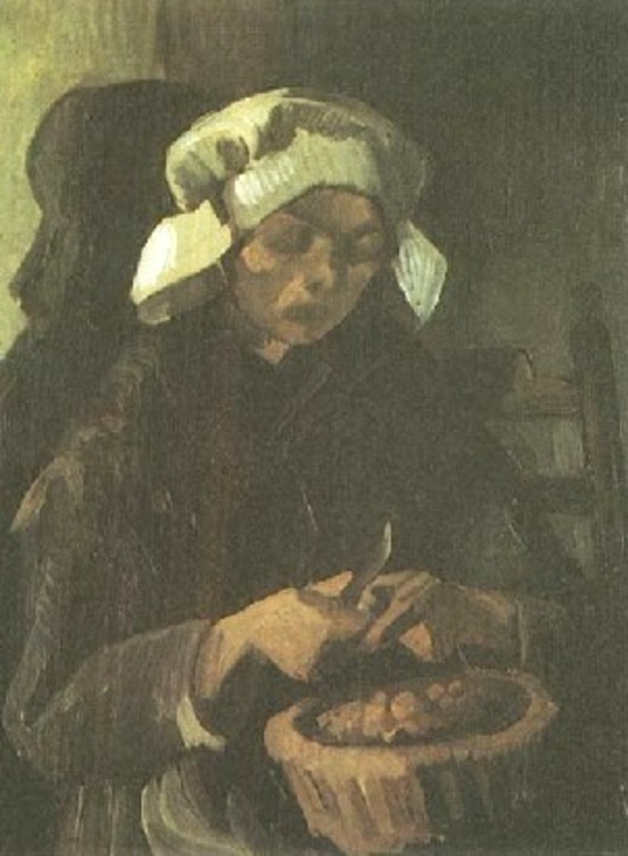 "Van Gogh's ""Peasant Woman Peeling Potatoes"""