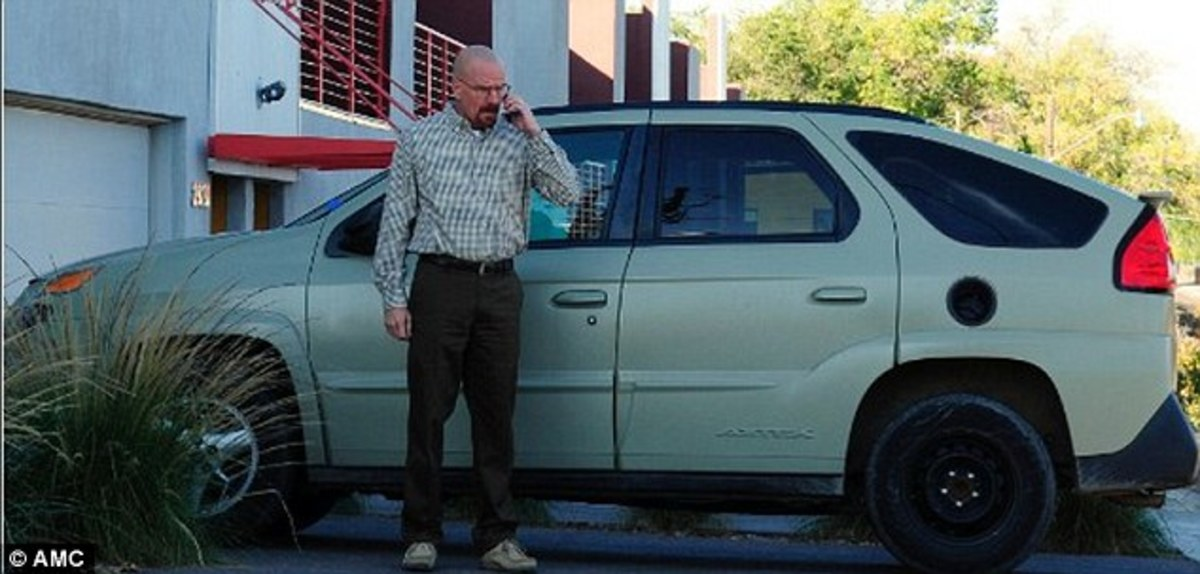 "The Pontiac Aztek in ""Breaking Bad"""