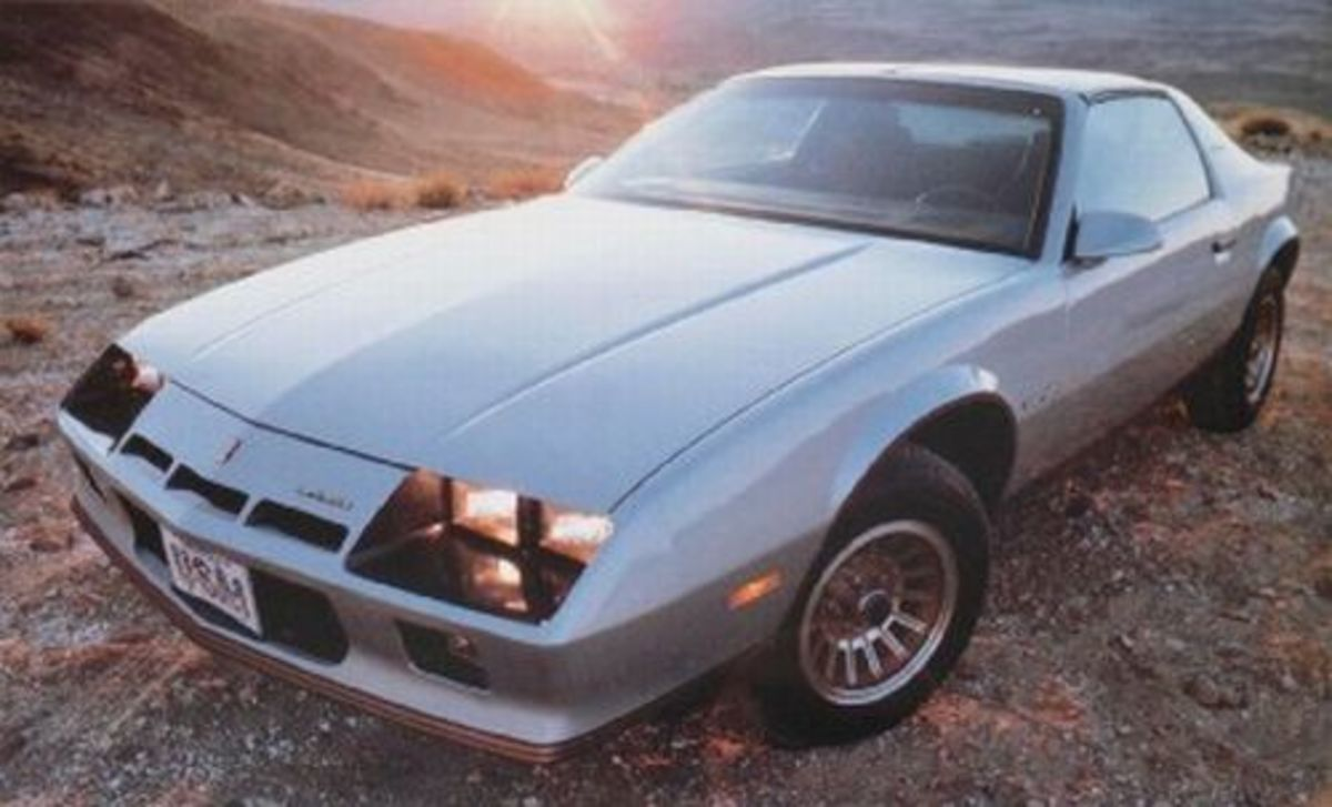1982 Sport Coupe Chevrolet Camaro