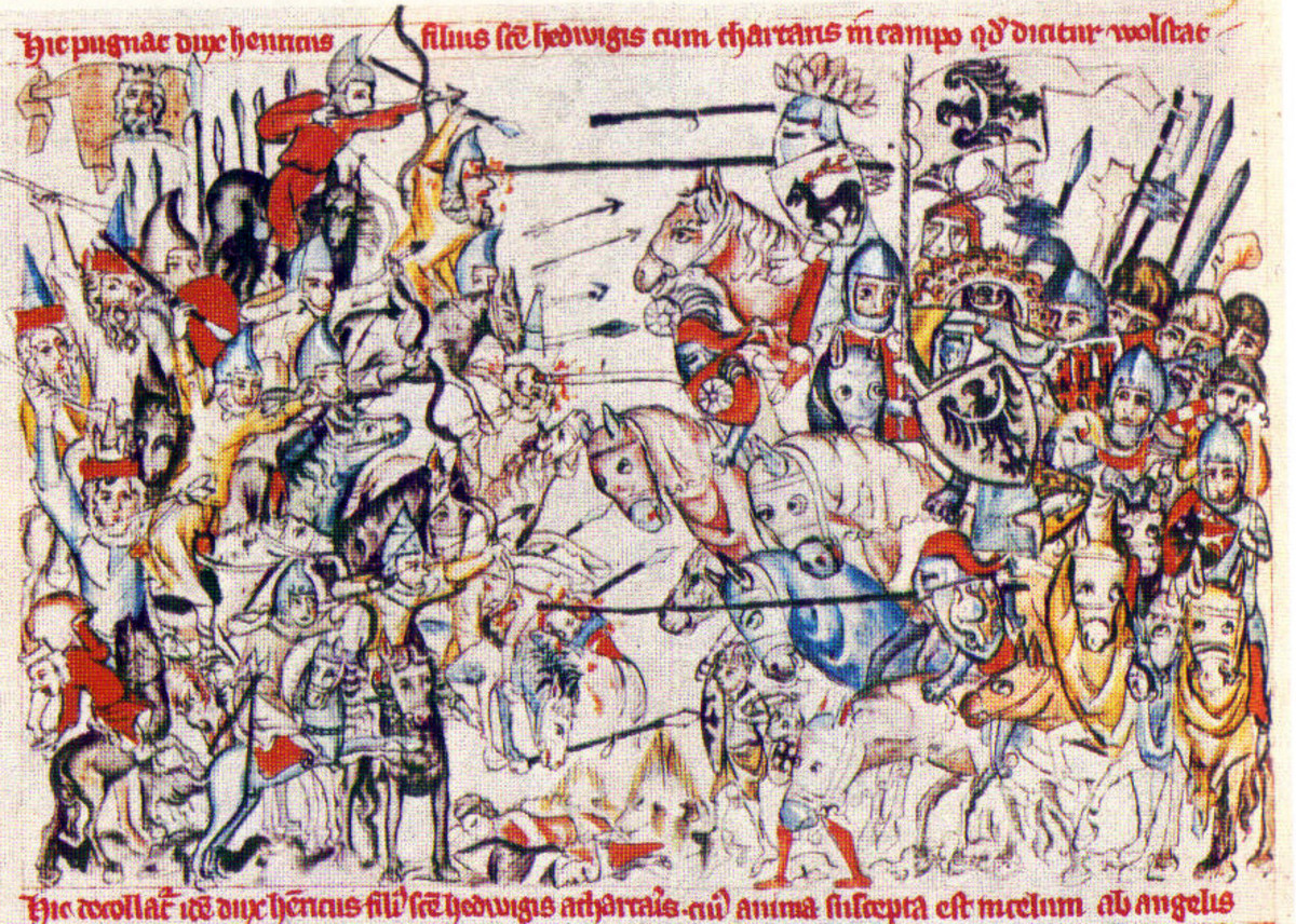 MONGOLS BATTLE EUROPEANS