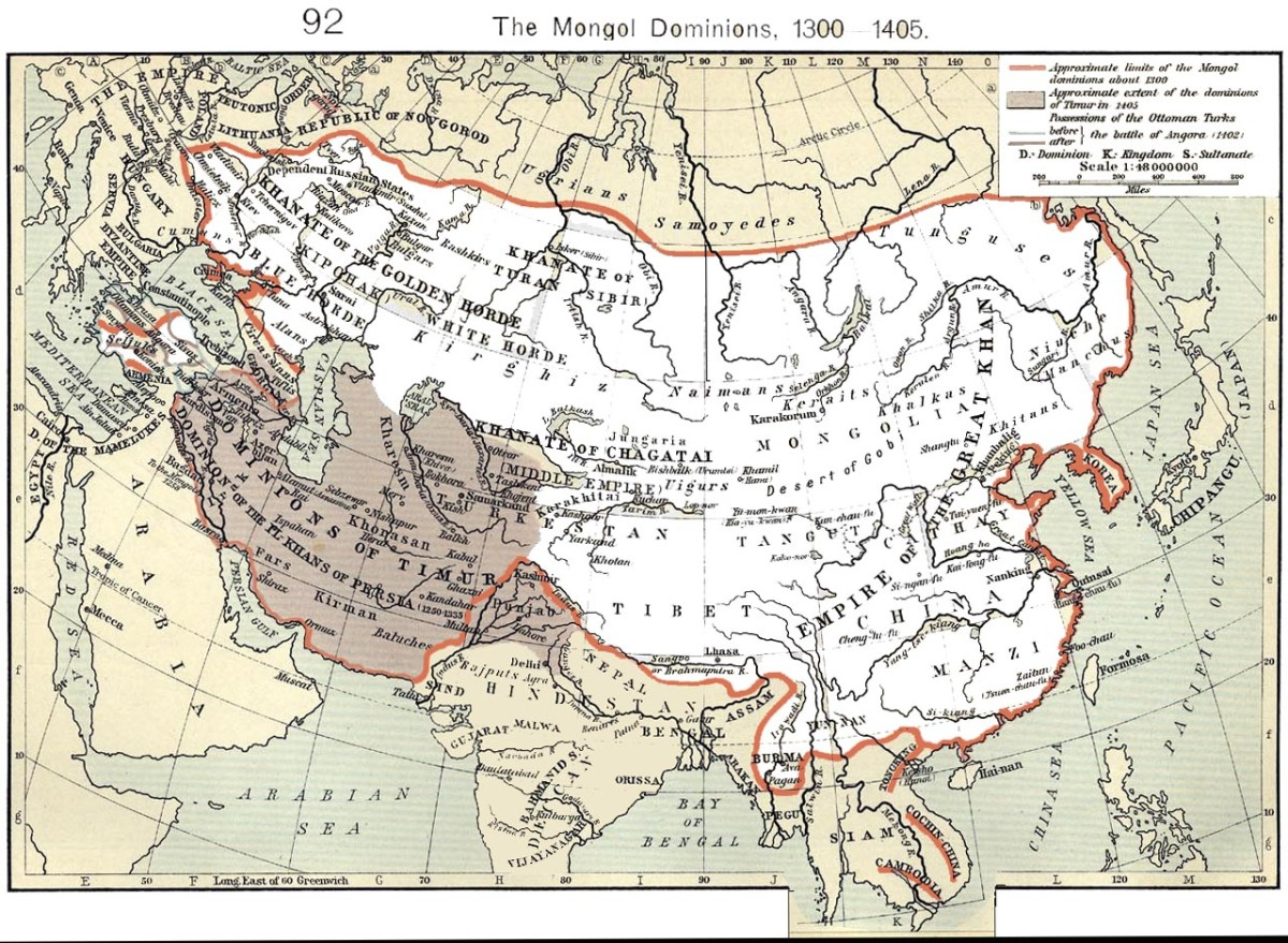 MONGOL EMPIRE 1300
