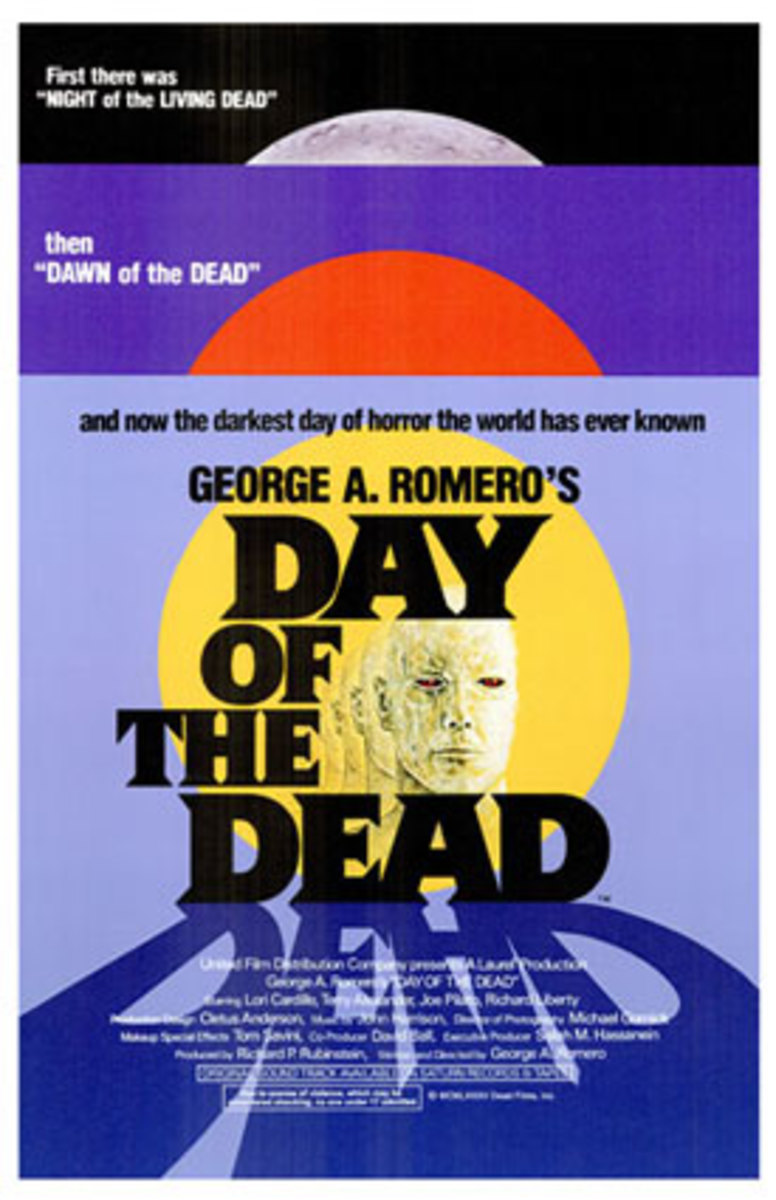Film poster for Day of the Dead.