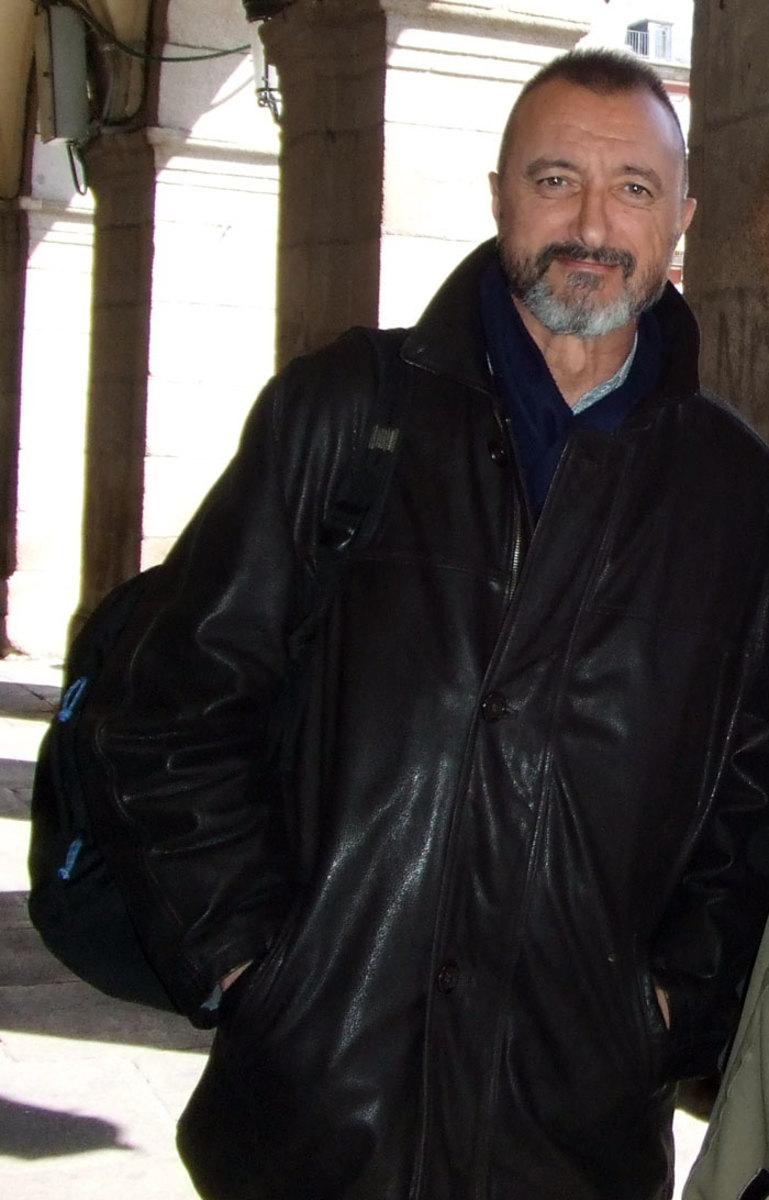 Arturo Perez-Reverte photo by Edward the Confessor