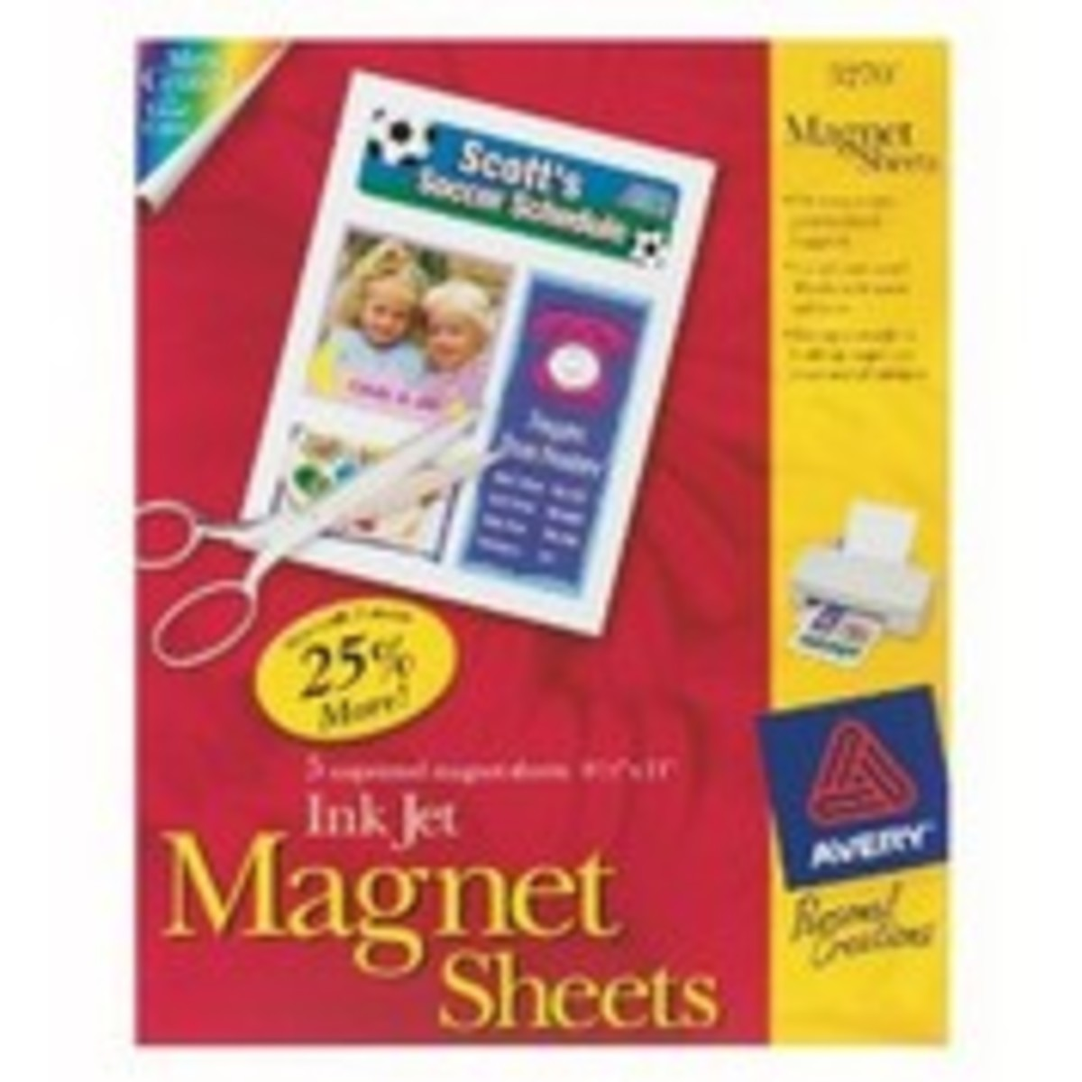 Sheets of Thin Magnet