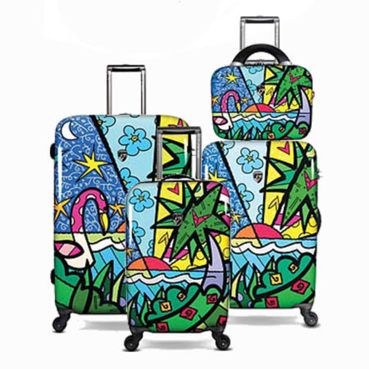 Britto Palm Collection by Heys USA http://www.airlineintl.com/catalog/palm-pattern