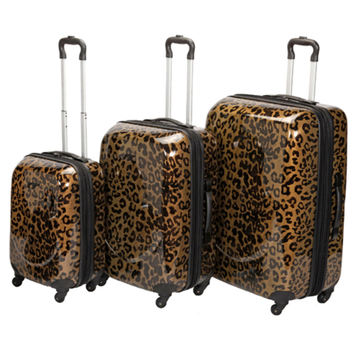 International Traveller Augusta Gold Leopard Pattern - 4 Wheel Spinners http://www.airlineintl.com/catalog/augusta-4-wheel-spinner-gold-leopard-collection